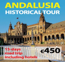 15-days Self Drive Andalusia Historical Tour