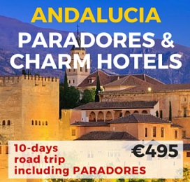10 days Self Drive Tour Paradores & Charming Hotels Andalucia
