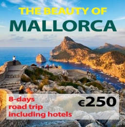 "8-days Self Drive Trip ""The Beauty of Mallorca"""