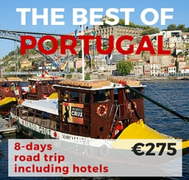 """8 days Self Drive Tour """"Best of Portugal """""""