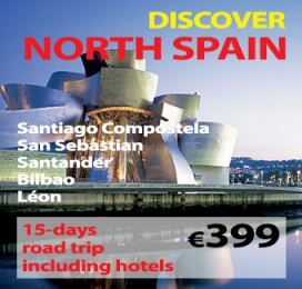 "15-days Self Drive Trip "" Discover The North of Spain """