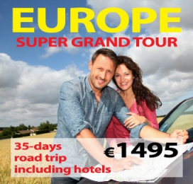35-days Self Drive Super Grand Tour of Europe