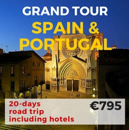 20 days Self Drive Grand Tour Spain & Portugal