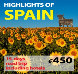 "15-days Self Drive Trip "" Highlights of Spain """