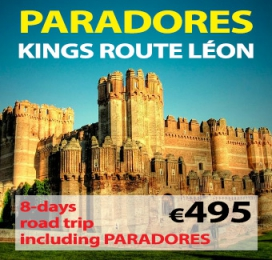 """8-days Self Drive Trip """" Paradores Kings Route of Leon """""""