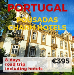 8 days Self Drive Pousadas & Charm Hotels Portugal