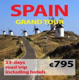 "23-days Self Drive ""Grand Tour of Spain """