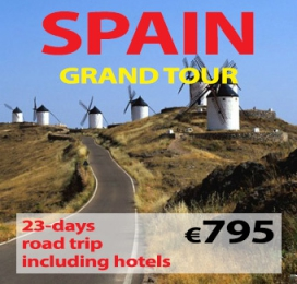 """23-days Self Drive """"Grand Tour of Spain """""""