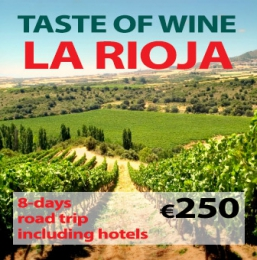 "8-days Self Drive Trip ""Taste of La Rioja Wine"""